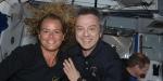 Julie Payette & Bob Thirsk