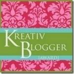 KreativeBloggerAward