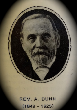 Dr. Alexander Dunn - first Presbyterian minister in BC's Fraser Valley