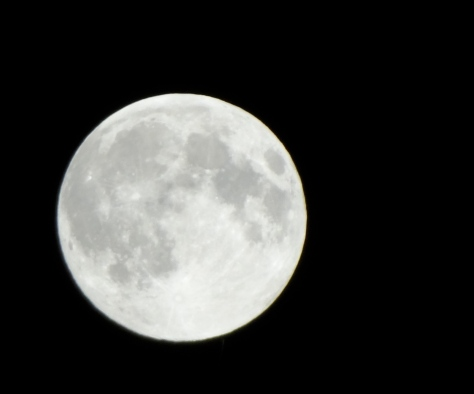Super Moon, June 22, 2013