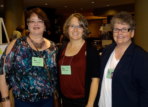 """Roomies"" at the hotel: Janet Smith, DD Shari Green, and me"